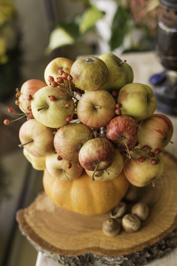 苹果花束  免版税库存图片