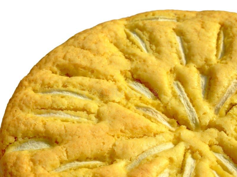 苹果蛋糕 免版税库存照片
