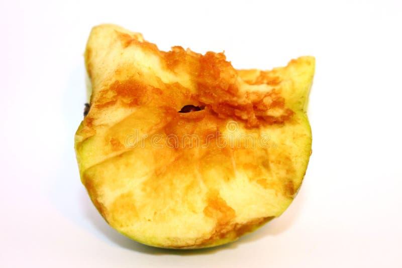 苹果计算机吃 免版税库存照片