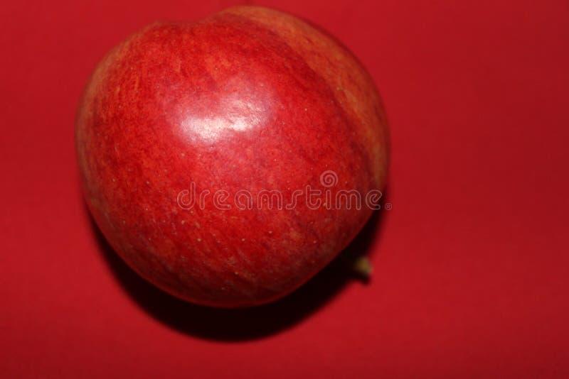 读苹果计算机果子 免版税图库摄影