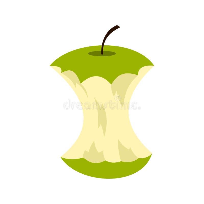 苹果计算机核心象,平的样式 向量例证