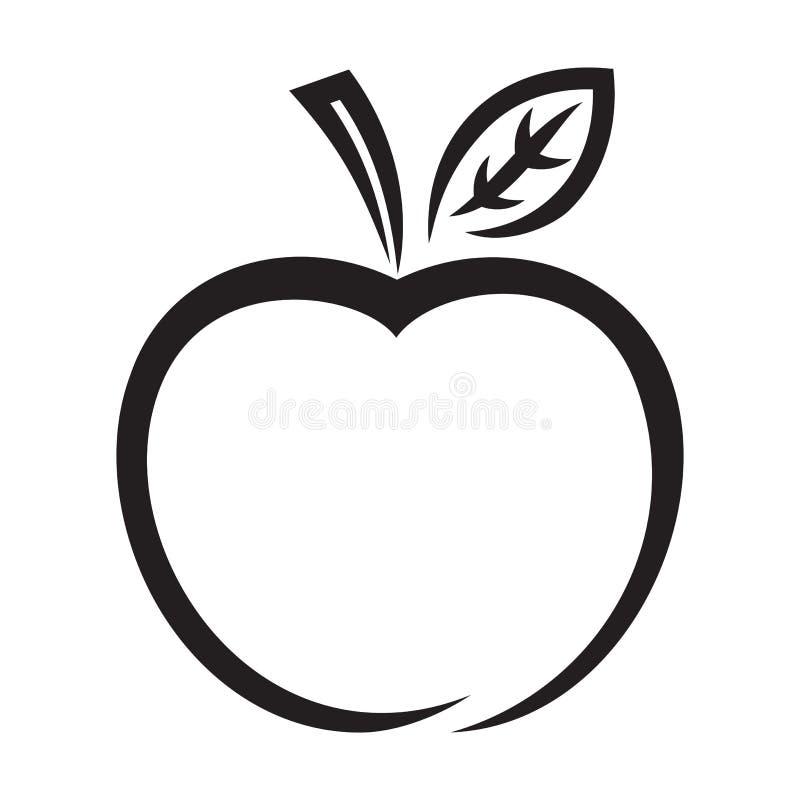 苹果计算机象 皇族释放例证