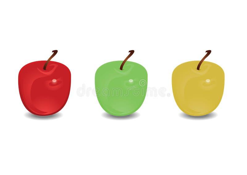 苹果计算机 皇族释放例证