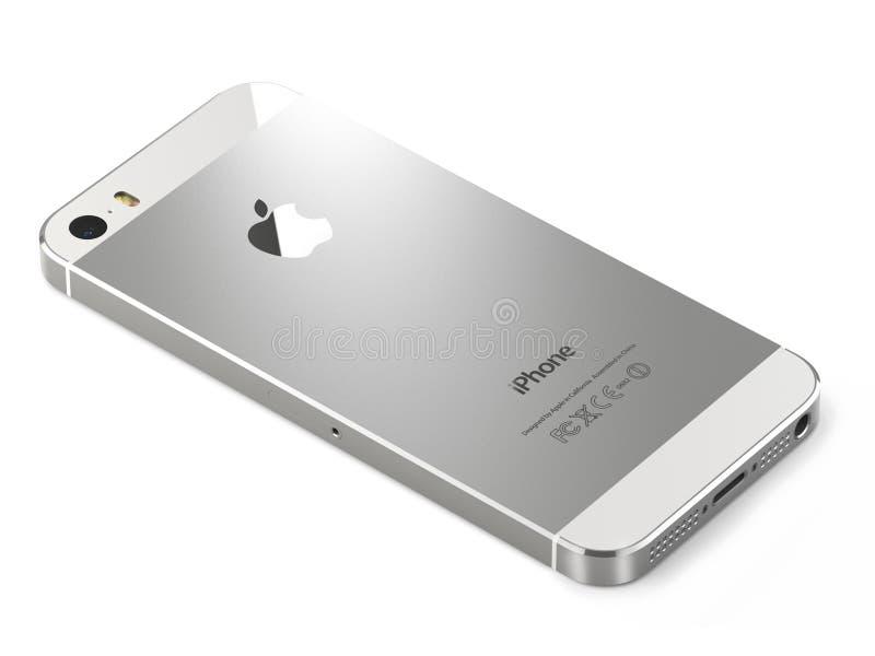 苹果计算机iphone 5s 免版税图库摄影