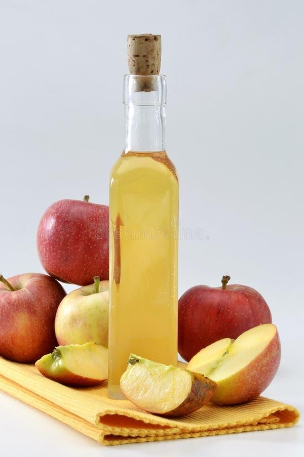 苹果醋 库存照片