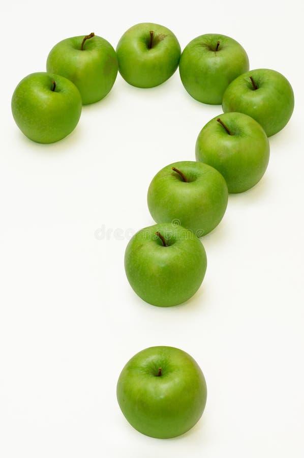 苹果问题 免版税库存照片