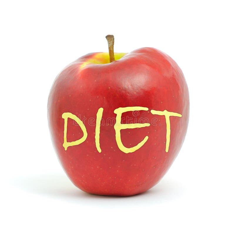 苹果饮食 图库摄影