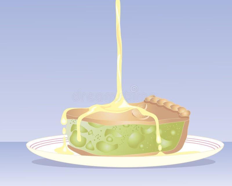 苹果饼 库存例证