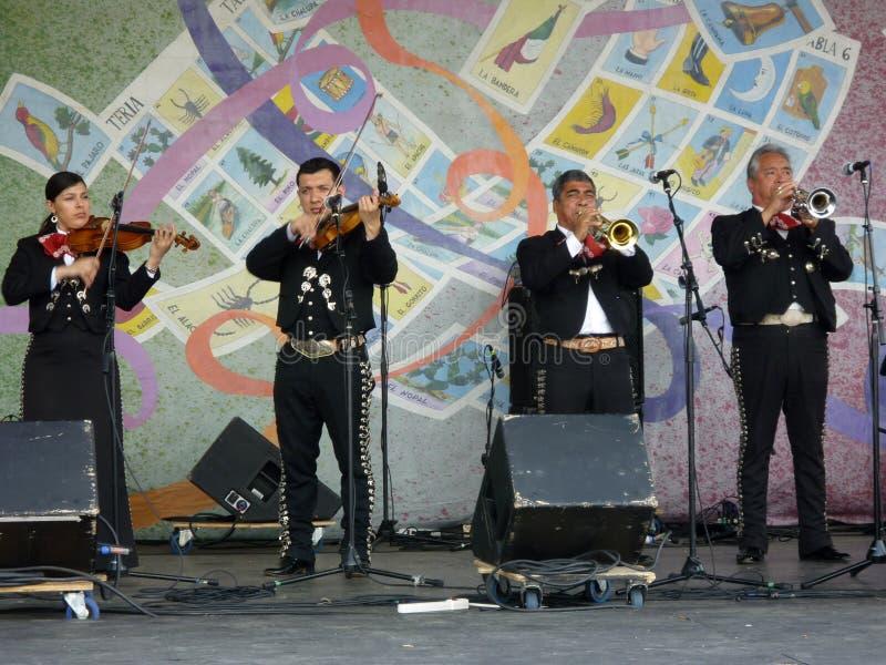 范围墨西哥流浪乐队 免版税库存图片
