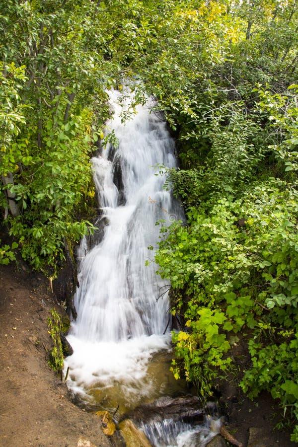 范Sickle Waterfall 免版税库存照片