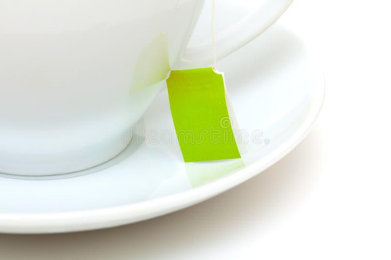 茶与茶包的 免版税库存图片