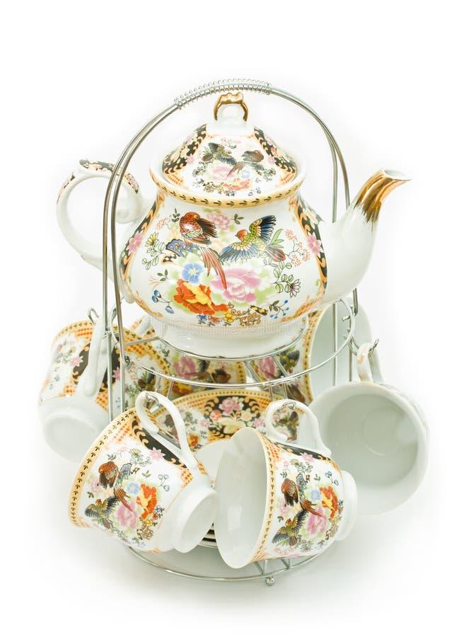 茶具 图库摄影
