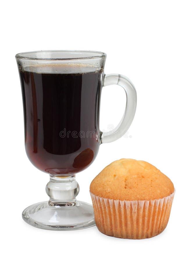 茶和蛋糕 免版税库存图片
