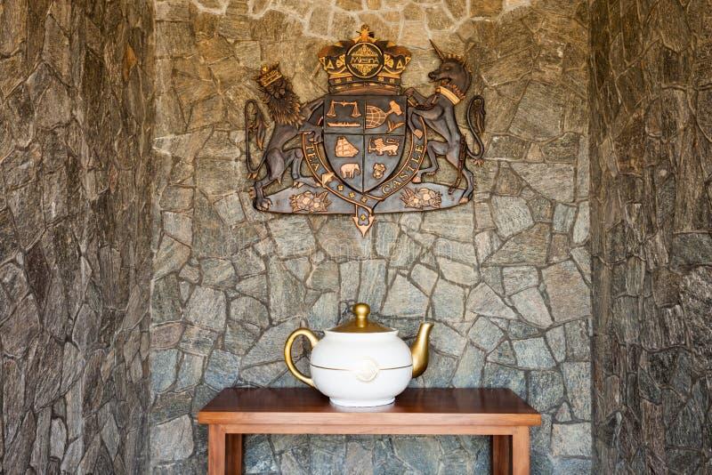 茶城堡,努沃勒埃利耶 库存照片