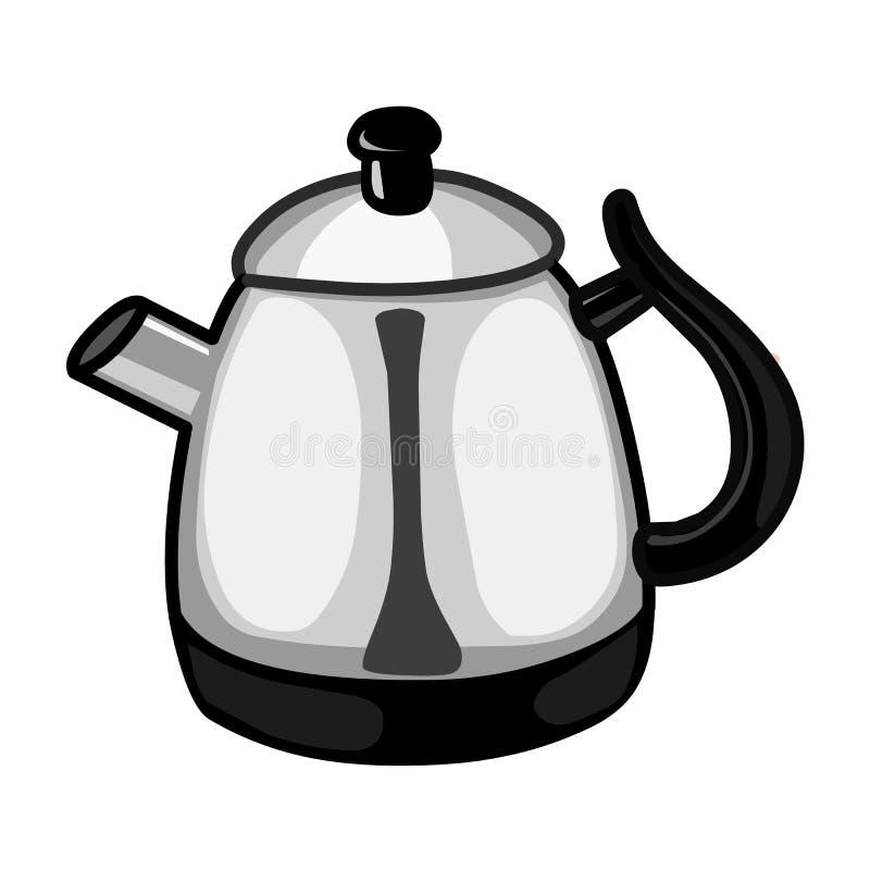 茶壶被隔绝的例证 向量例证