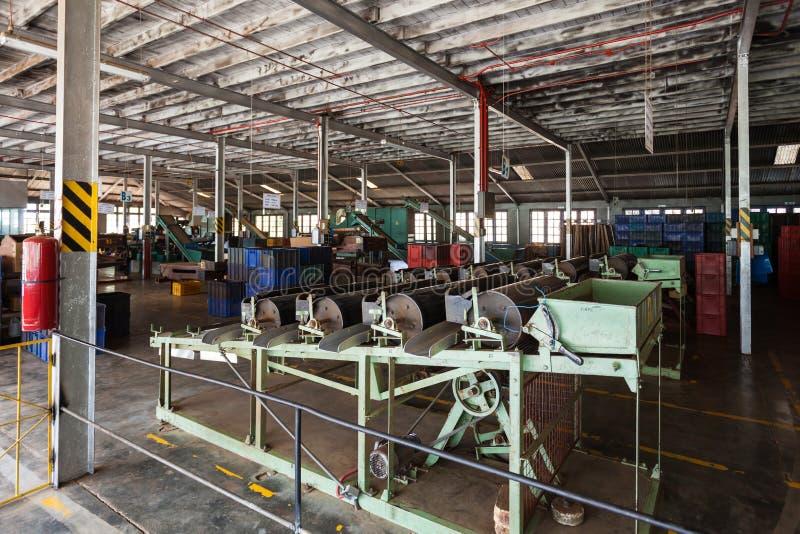 茶工厂,斯里兰卡 库存图片