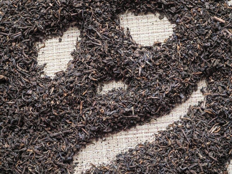 茶庆祝万圣夜 中国人普洱哈尼族彝族自治县茶被计划以万圣夜南瓜的形式 免版税库存照片