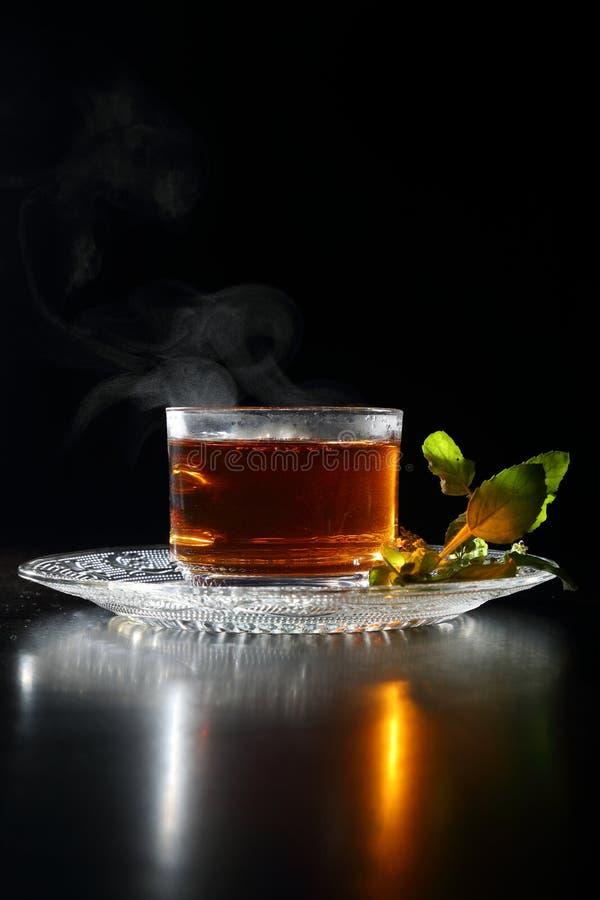 茶杯有茶壶的 免版税库存照片