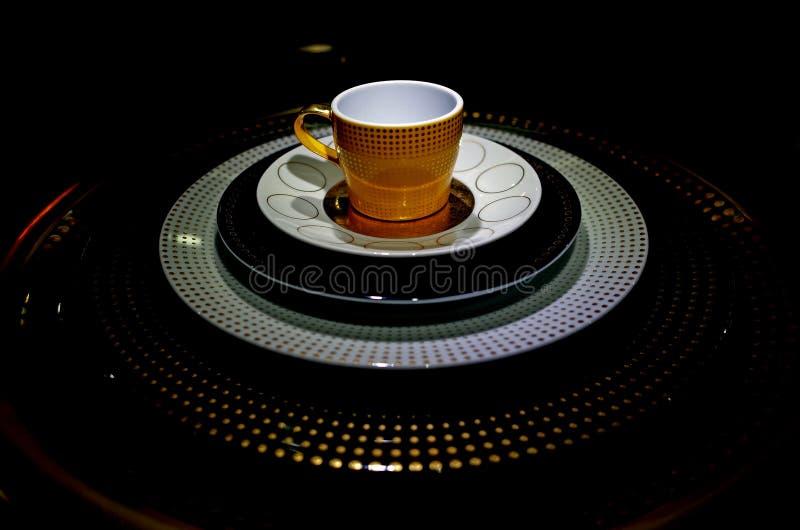 茶罐人工制品 库存照片
