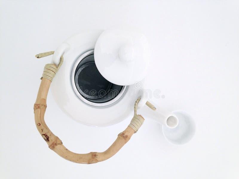 茶罐 免版税库存照片