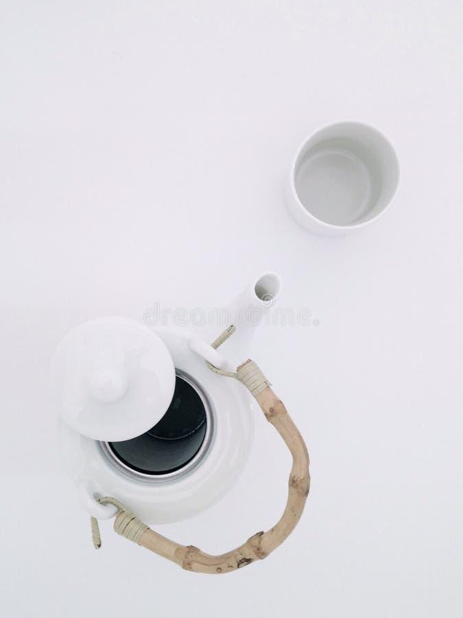 茶罐 库存图片