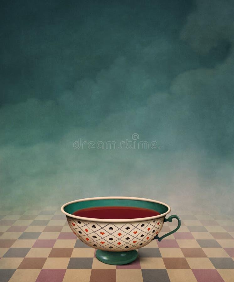 茶 向量例证