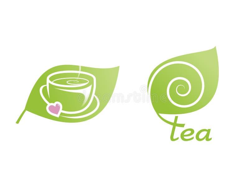 茶 库存例证