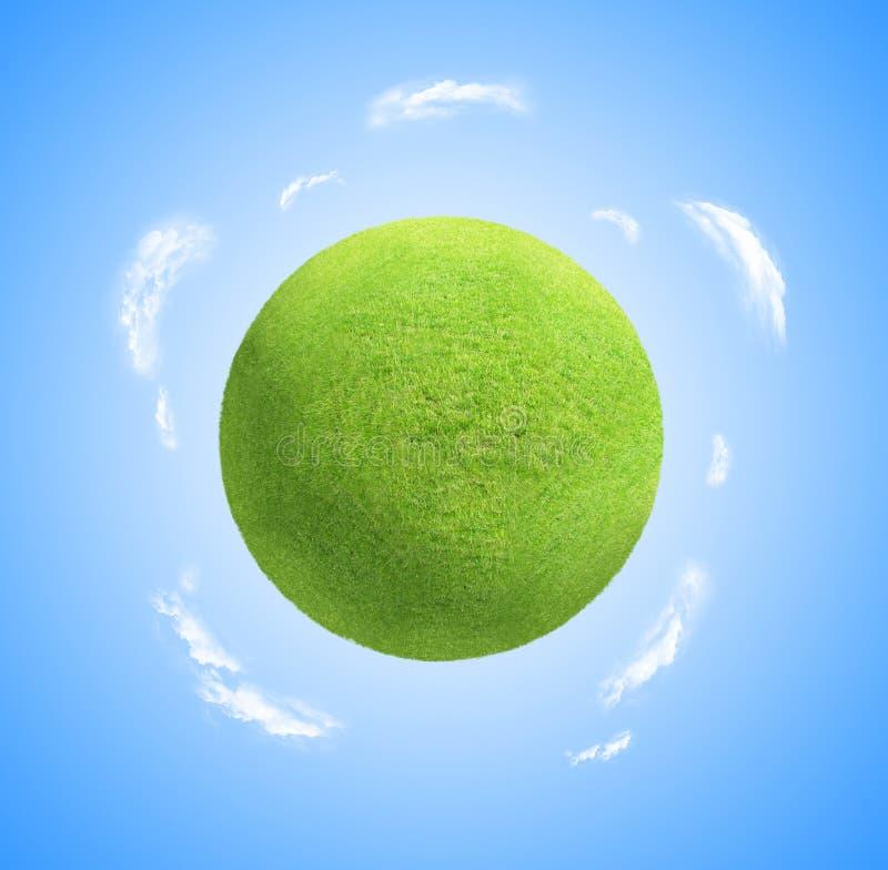 草健康行星 向量例证
