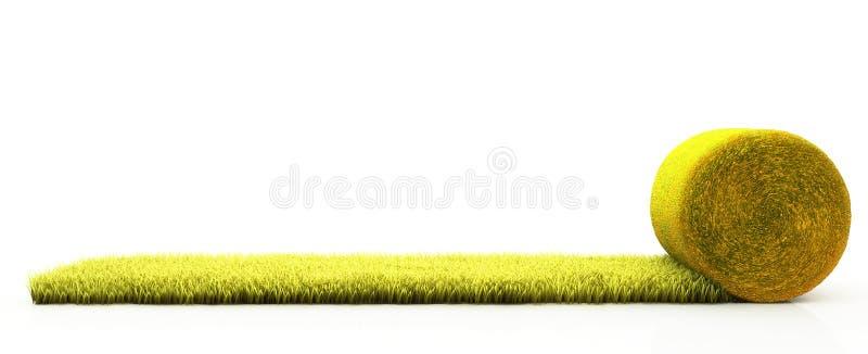 草坪草 库存例证