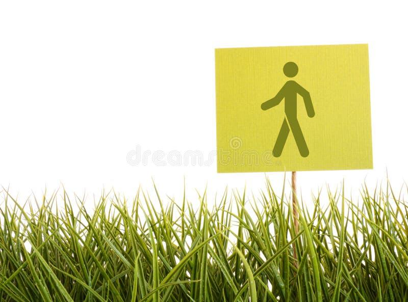 草绿色符号 图库摄影