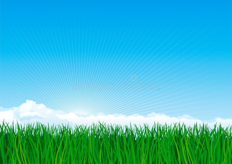 Download 草绿色 向量例证. 插画 包括有 向量, 背包, 空间, 复制, 横向, 云彩, 本质, 乡下, 工厂, 外面 - 22354883