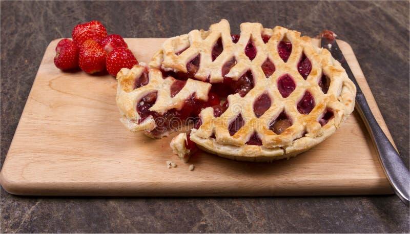 草莓和苹果 免版税库存照片
