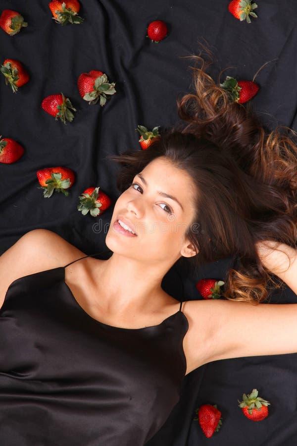 草莓梦想 免版税库存图片