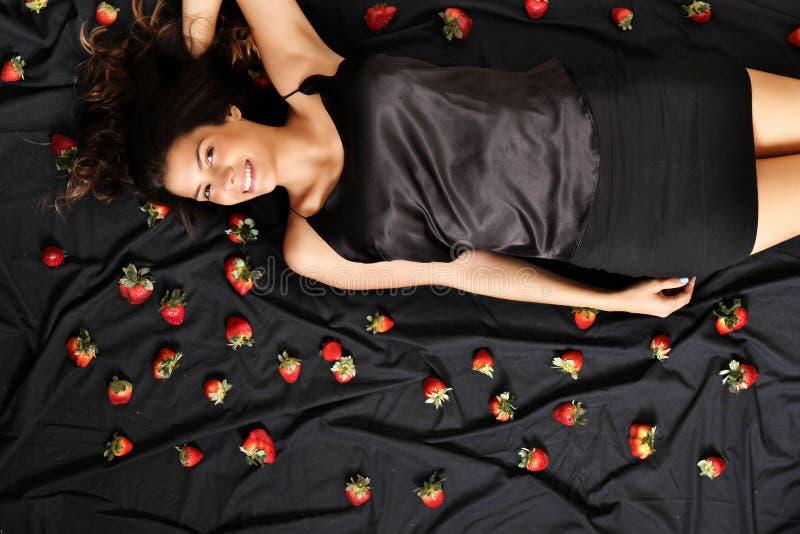 草莓梦想 库存照片