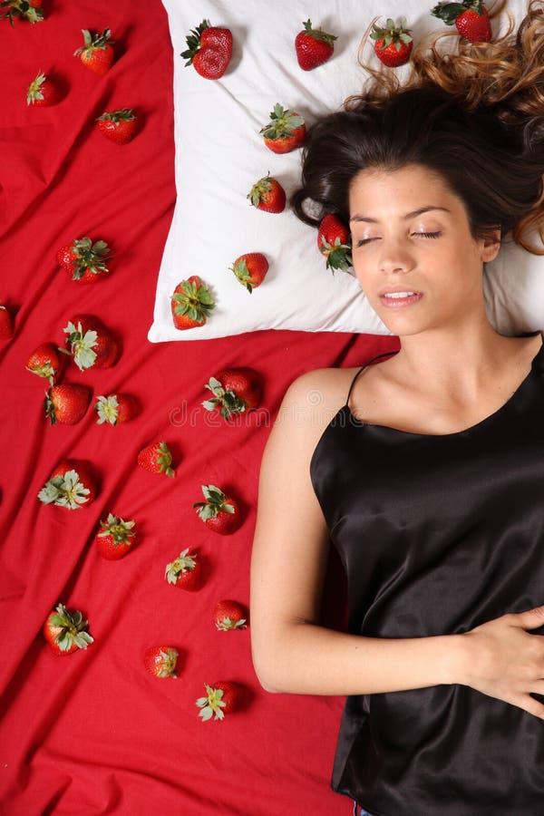 草莓梦想 图库摄影