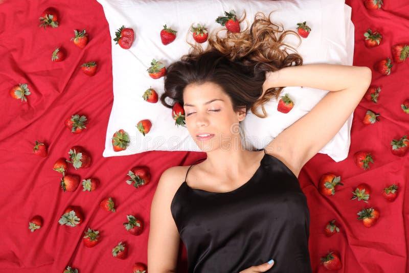 草莓梦想 免版税库存照片