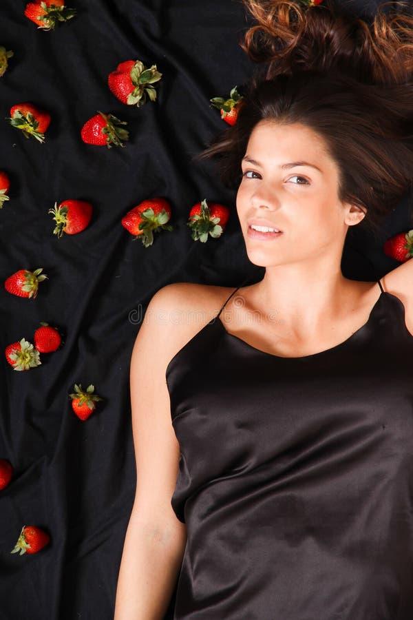 草莓梦想 库存图片
