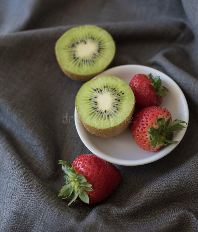 草莓猕猴桃 库存图片