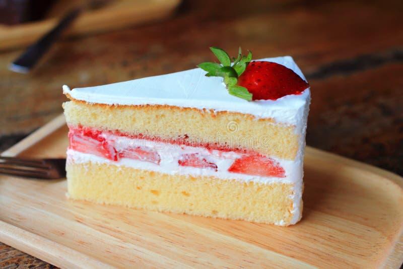 草莓脆饼 库存图片