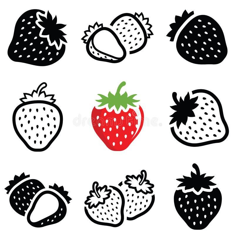 草莓象 皇族释放例证