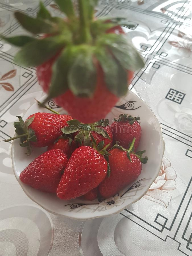 草莓,莓果 库存照片
