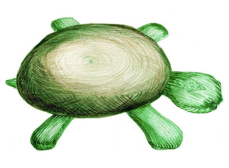 草龟玩具 皇族释放例证