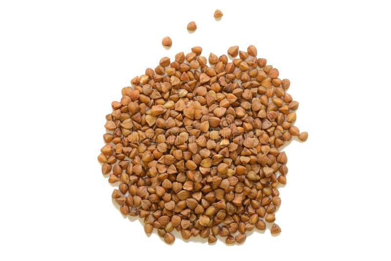 荞麦粥堆  免版税库存图片