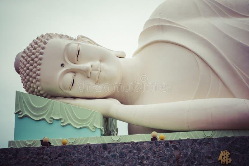 荣市Tranh塔在美荻市,湄公河三角洲,越南 免版税库存图片