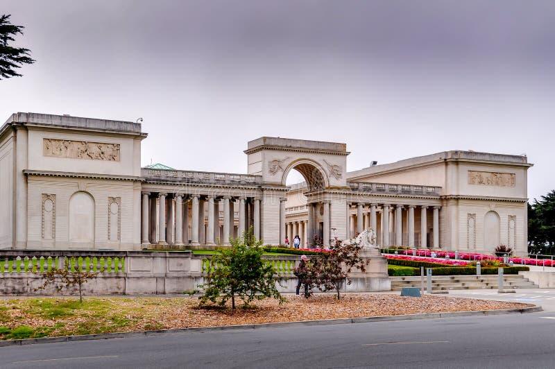 荣誉军队的宫殿  免版税库存图片