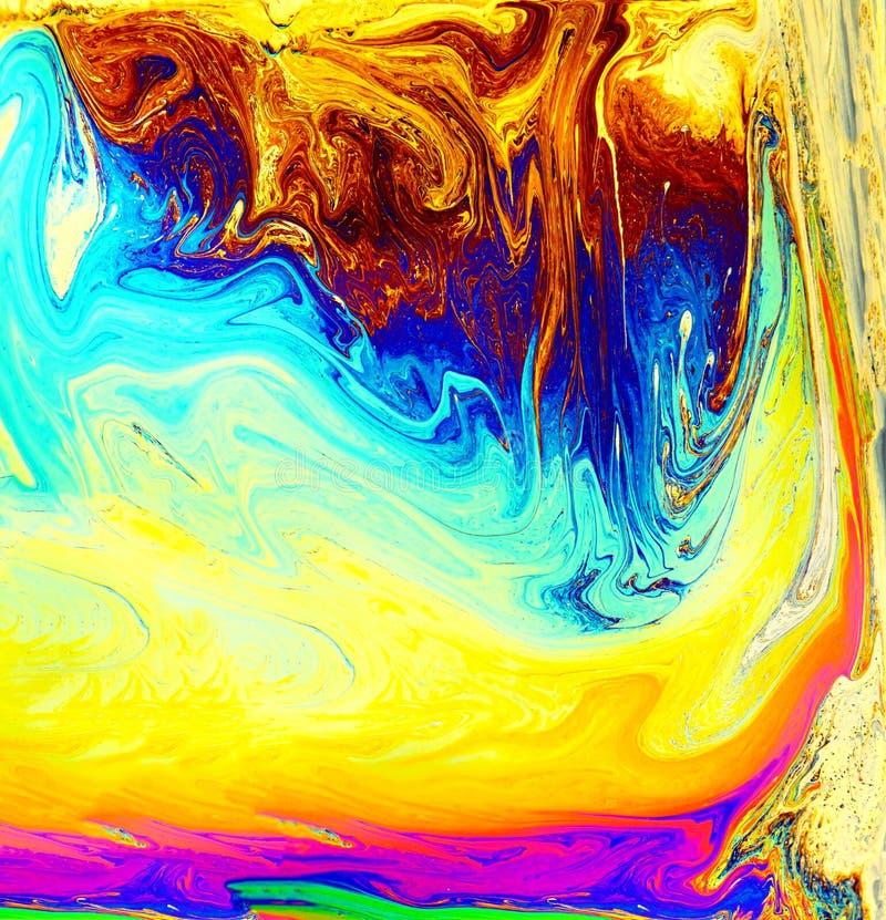荧光的背景 花宇宙  概念艺术设计 r 库存图片