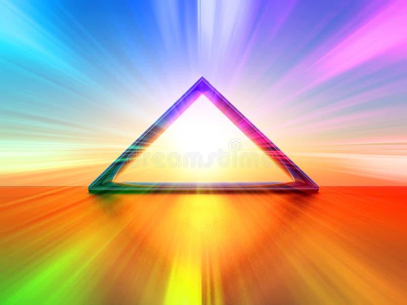 荧光 向量例证