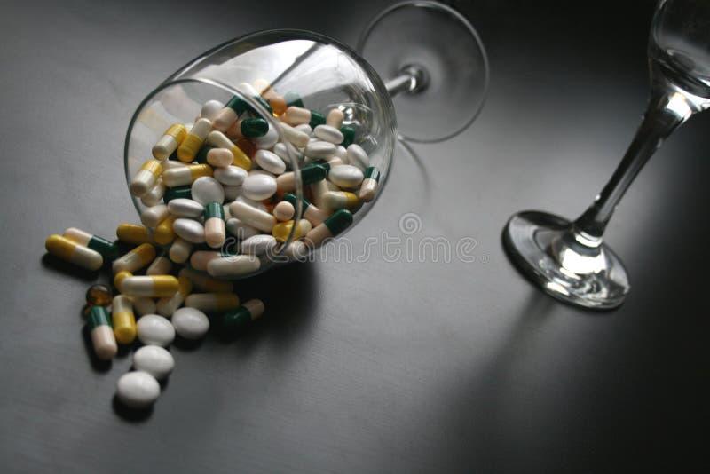 药剂过量 免版税库存照片