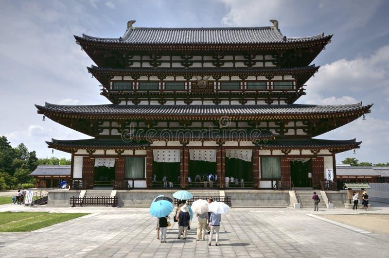 药师寺寺庙,奈良,日本 库存照片