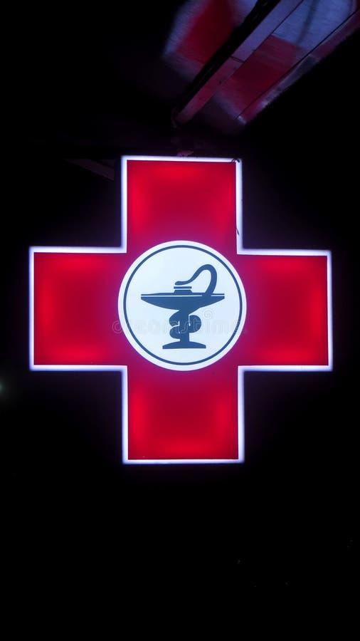 药房医疗标志 免版税库存照片